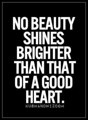 Let it shine on through.