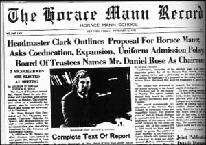 Missed stories: About that Horace Mann School article in the Times