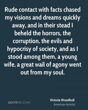 ... among them, a young wife, a great wail of agony went out from my soul