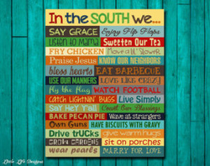 Southern Sayings. Hey Y'all. Southern Wall Art. Sweet Tea. Southern ...