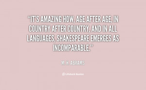 It's amazing how, age after age, in country after country, and in all ...