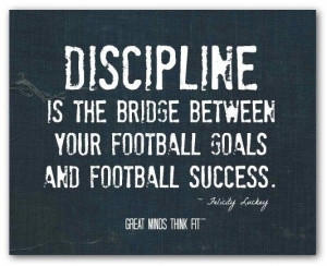 Inspirational football quotes, sport, sayings, discipline