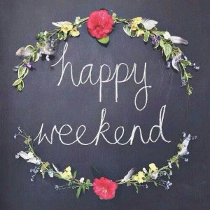 Have a great weekend y'all!
