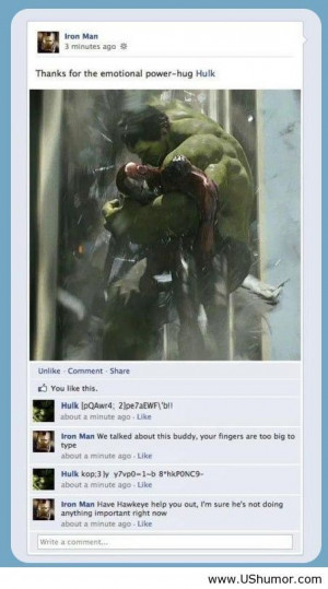 The avengers funny on facebook US Humor - Funny pictures, Quotes, Pics ...