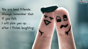 Funny friend quotes wallpaper for desktop which is very hilarious and ...