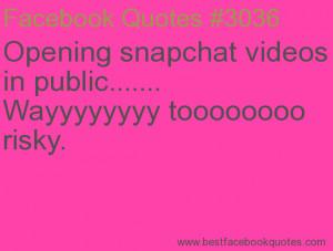 Snapchat Love Quotes
