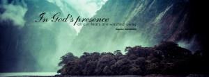 In God's presence Facebook timeline cover, Free Christian Facebook ...