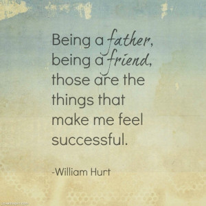 Being a father