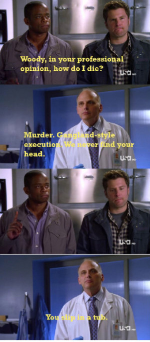 yay4me:Psych 5X02- Feet Don't Kill Me Now