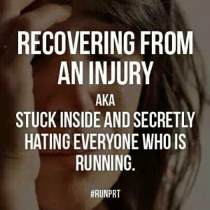 Injured-runner math