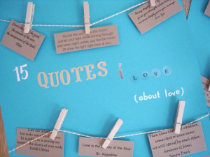 Marriage and love quotes for scrapbooking
