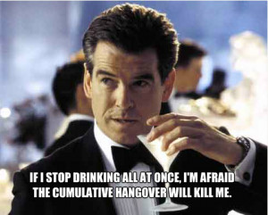 So here's my Archer Quotes on James Bond pics