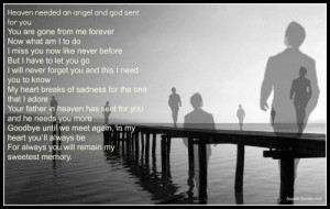you, You are gone from me forever, Now what am I to do, I miss you now ...