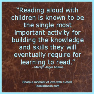 Reading Aloud #Children #Quotes Children Quotes, Education Quotes ...