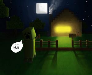 Minecraft Creeper by kerimakyuz