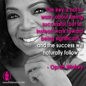 empowerment #Oprah #Quote