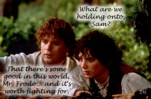 sam and frodo quote