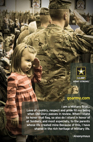 Celebrating our Army Brats this month--Month of the Military Child by ...