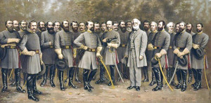 He led Confederate soldiers through four bloody years of combat.