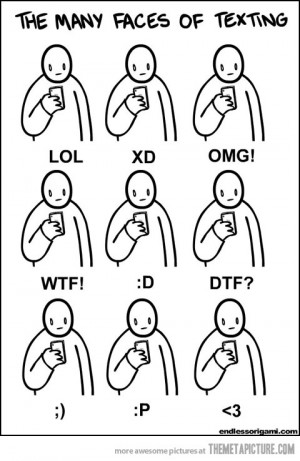 Funny photos funny faces texting stickman