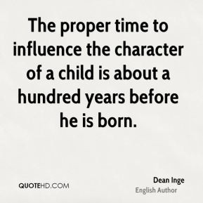 More Dean Inge Quotes