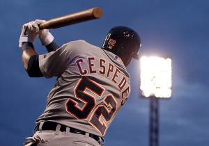 Yoenis Cespedes Tigers Detroit