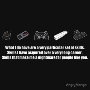 Particular Set of Gaming Skills Dark