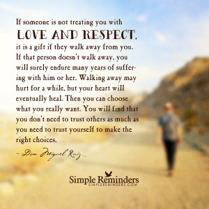 The gift of walking away by Don Miguel Ruiz with article by Elle ...