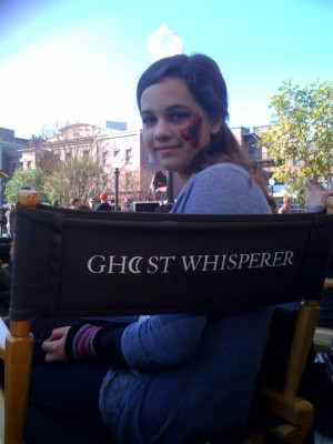 june 2013 names mary mouser mary getting ready for her next scene