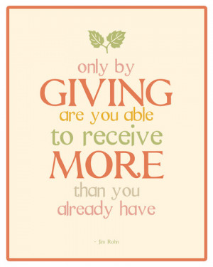 hope you enjoyed these Giving Back Picture Quotes To Create Good ...