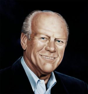 Gerald Ford Portrait Barton...