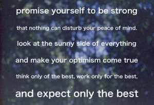 Quote of the Day : The Best