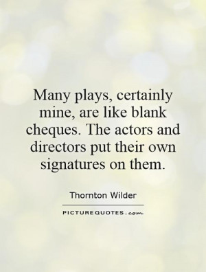 Cheques Quotes