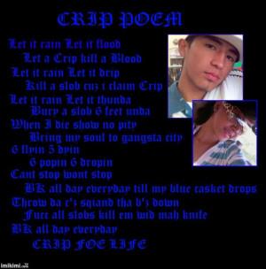 Crip Quotes