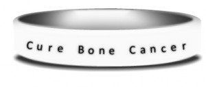 bone cancer wristbands have organizations fundraising for bone cancer ...