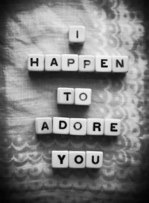 Adore You - quotes Photo