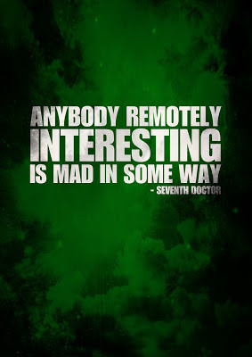 ... remotely interesting...   A Mama Geek's Top List of Doctor Who Quotes