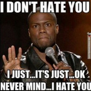 Don't Hate You - Kevin Hart Meme