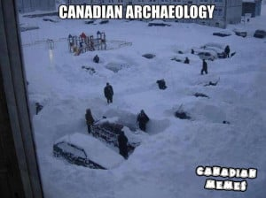 Winter Canadian Archaeology