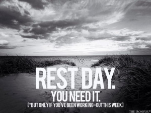 Rest day.