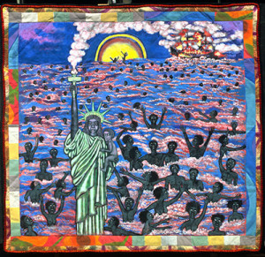 Faith Ringgold We Came to America