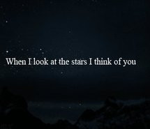 Quote Sky Stars Text