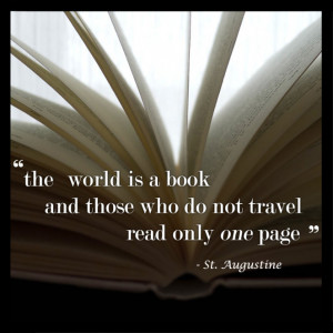 Home » St. Augustine Travel Quote