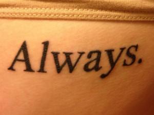 25 Impressive One Word Tattoos