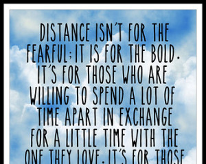 Military Long Distance Relationship Quote - 8x10 Digital Download ...