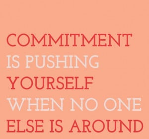 ... to do that first thing in the morning!! #commitment #fitness #quote