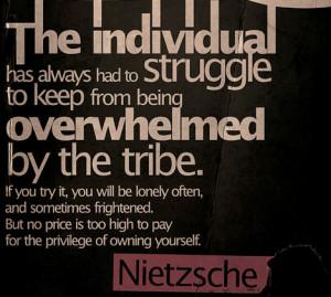 Quote ~ Nietzsche