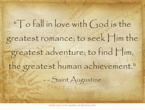 St Augustine Quotes On Love: Augustine St Augustine Quotes, Augustine ...