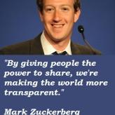 ... Sunday: 17 Business Quotes by Mark Zuckerberg for Entrepreneurs