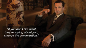 10 memorable 'Mad Men' quotes